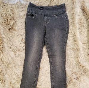 Jag flat panel pull on skinny jeans
